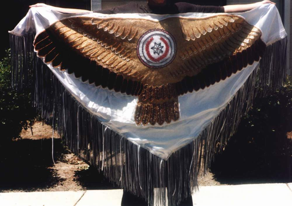 Fancy Dance Eagle Shawl